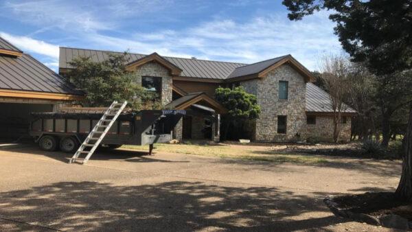 standing seam metal roof belton texas