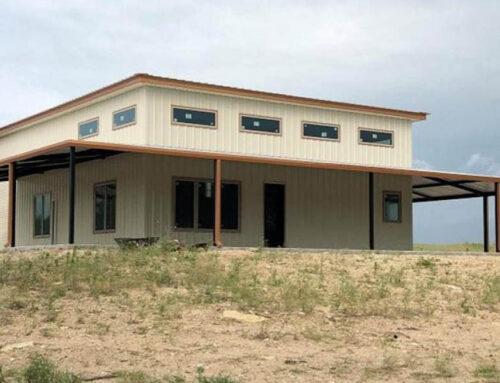 Lingleville, TX residential barndominium